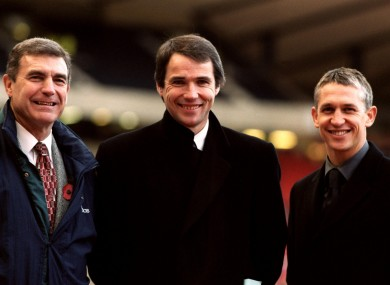 The Match of the Day crew from 1999.