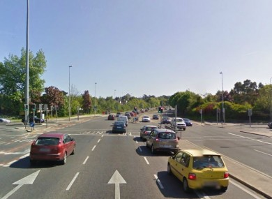 The junction of the N11 and Kilmacud Road near where the collision took place.