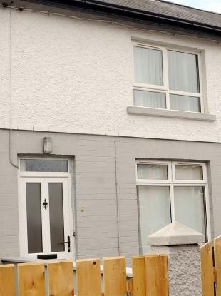 Trinity Terrace in Lisburn, Co Antrim where the body of Brendan Owens, three, was found in July.