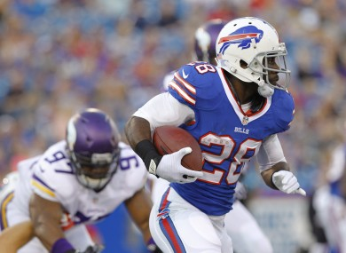 CJ Spiller is set to have a monster year for the Buffalo Bills.