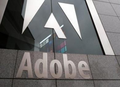 The Adobe headquarters is seen in San Jose, California.