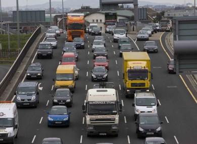 Traffic in Dublin (file photo)