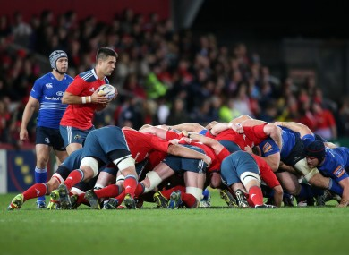 Conor Murray: scrum-halves being watched closely by officials.