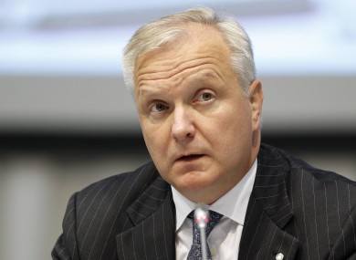 European Commission Commissioner for Economic and Monetary Affairs and the Euro and vice president of the European Commission Olli Rehn