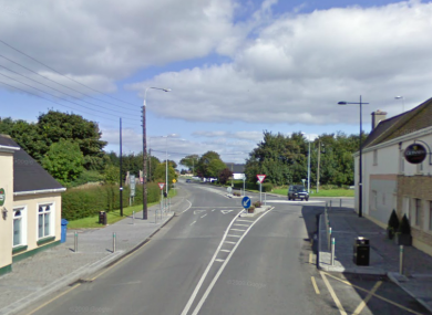 Rochfortbridge, close to where this morning's crash happened