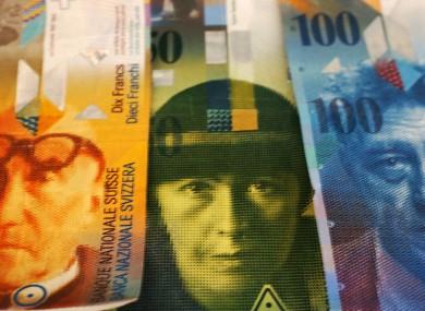 Swiss francs.