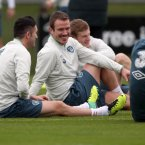 Forget about Marty and Roy -- Glenn Whelan's moustache and soul patch combo was one of the highlights of Ireland's training camp this month.