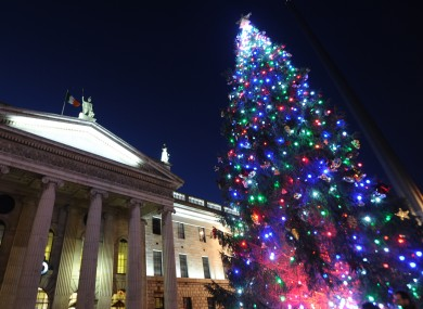 Christmas In Dublin Ireland.So What S Happening In Dublin In The Run Up To Christmas
