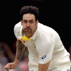 The English might not like Aussie cricketer Mitchell Johnson at the moment but he's channelling his inner Freddy Mercury for a good cause.