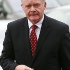 Deputy First Minister of Northern Ireland, Martin McGuinness.<span class=