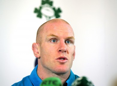 O'Connell believes his players are good enough to win.