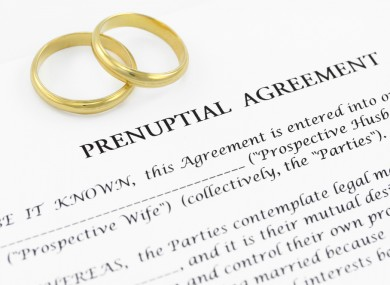 Poll Do You Think Prenuptial Agreements Should Be Legal In Ireland