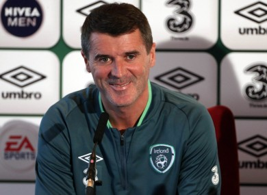 Roy Keane: 'there's respect there'.