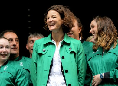 Sonia O'Sullivan is hoping to be involved with Team Ireland at Rio 2016.