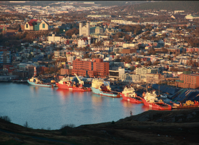 St John's Harbour in Newfoundland.