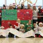 The family of John Ryan wait to welcome him home for Christmas from Idaho<span class=
