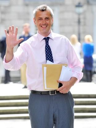 Colm Keaveney is waving hello to Fianna Fáil