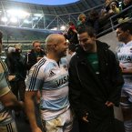 The former Leinster out-half hung up his playing boots after this year's rugby Championship with Argentina.<span class=