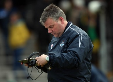 Boyne: has been Dublin's stats man since 2004.