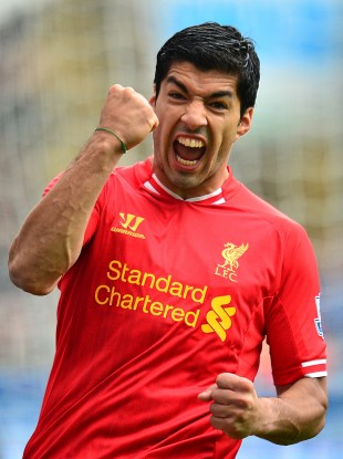 Luis Suarez consolidated his status as one of the world's best players in 2013.