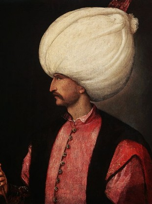 Suleiman the Magnificent in a painting attributed to Renaissance great Titian.
