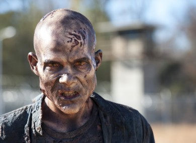 One of the show's 'walkers' from season 3.