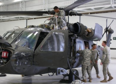 U.S. Army Black Hawk helicopter similar to that involved in the crash. (File photo)