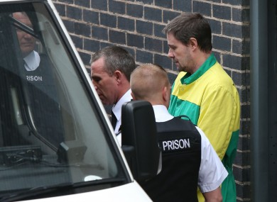 Mark Bridger leaves Mold Crown Court in May last year