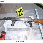 Assault rifle from Mountjoy Road seizure