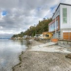 Steps away from the water, Tsunami House is located on a FEMA-designated high velocity flood zone.