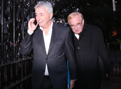 The PAC will seek to bring Kiely (left) and former CRC chairman Jim Nugent (right) back before it in the coming weeks.