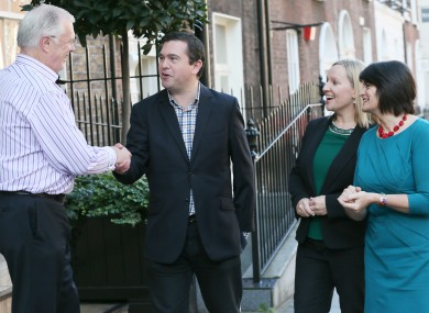 Members of 'The RA' at their September summit in Dublin last year.