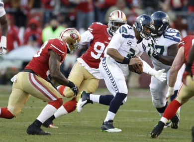 Russell Wilson's legs could play a key role in the NFC Championship game.