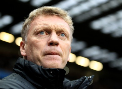 Moyes has come under fire for his side's poor recent form.