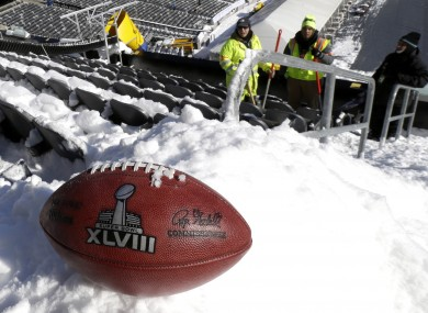 The only thing we know for sure about Super Bowl XLVIII is that it will be cold.