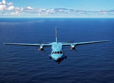 A Casa CN 235 maritime patrol aircraft