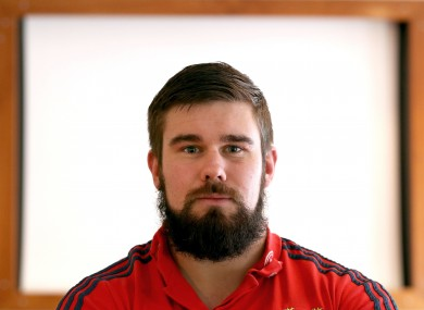 Casey aims to rival Gordon D'Arcy in the beard stakes.