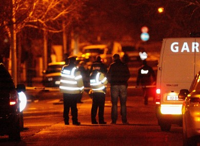 The scene on Furry Park Road, Dublin, where Kelly was killed.