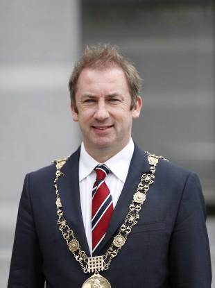 Dublin Lord Mayor Oisín Quinn