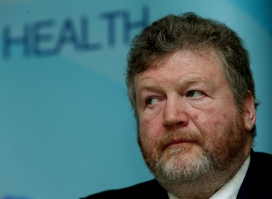 Minister for Health James Reilly.