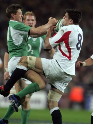 Corry knows all about going to battle with Ireland.