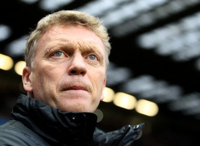 David Moyes: difficult first year at the helm.