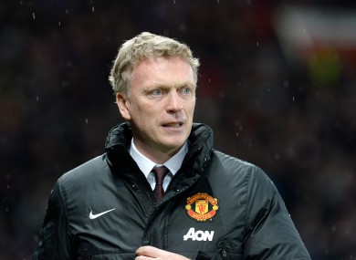 Moyes has endured a disappointing tenure as United boss so far.