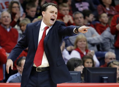 Dayton coach Archie Miller: a happy man.