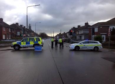 Crime scene this morning