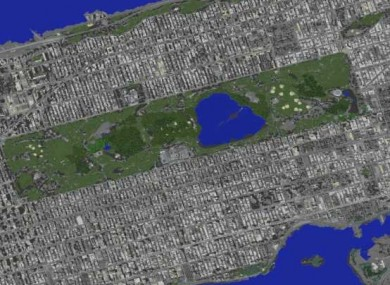This Student Is Building An Epic Replica Of Manhattan Inside Minecraft