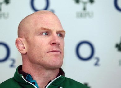 Ireland captain Paul O'Connell says Italy's scrum will 'probably be the biggest test in the championship for us now'.