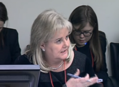 Angela Kerins appeared for seven hours at the committee last week