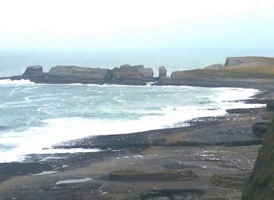 The Balthard Cliffs in Doonbeg.