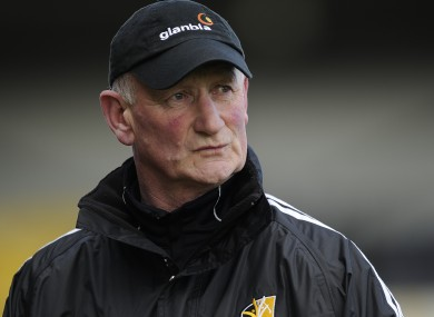 Brian Cody who addressed teachers at the INTO conference yesterday.